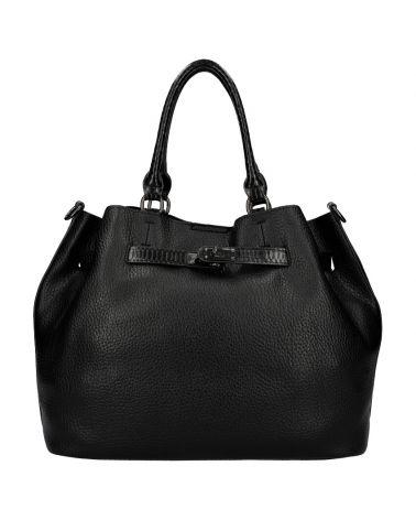 Valentina Madrid kabelka shopper velká černá A019 A019_BK