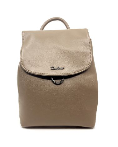 David Jones dámský batoh s klopou béžový 6631 6631-3_TE