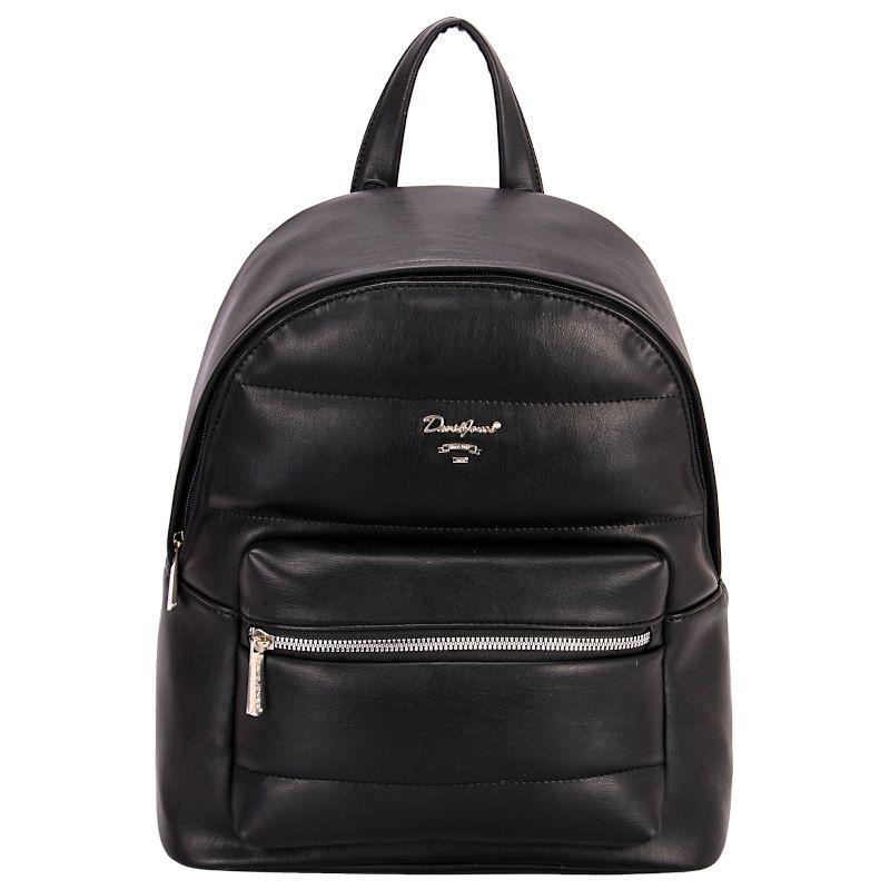 David Jones dámský batoh QUILTED černý 6608 6608-3_BK