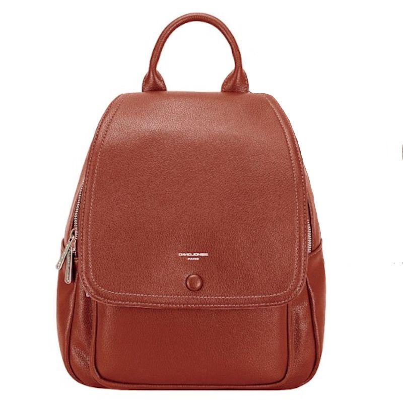 David Jones dámský batoh cihlově červený 6626 6626-2_SI