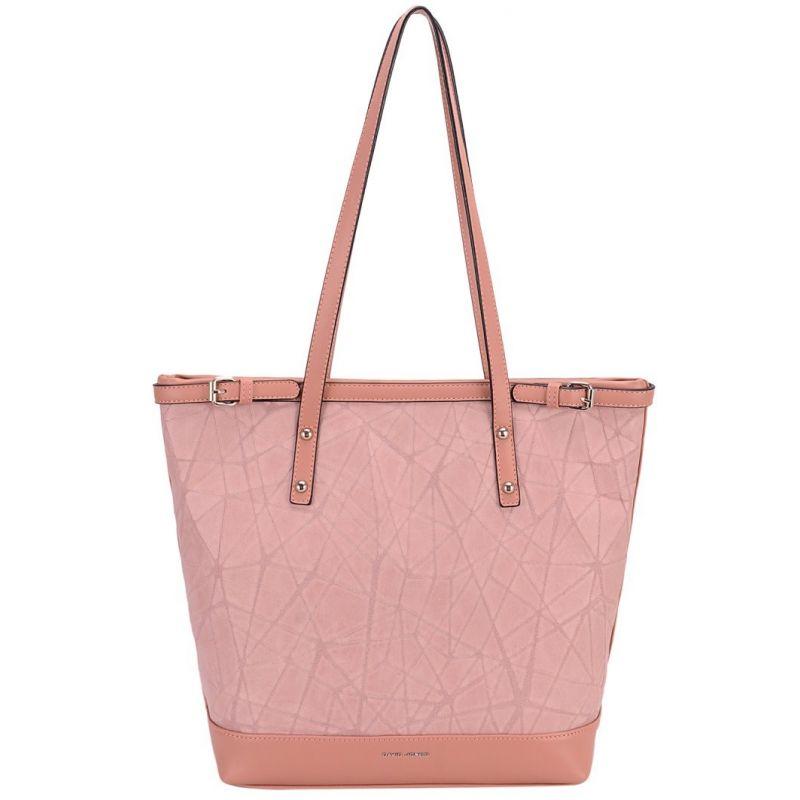 David Jones kabelka shopper růžová 6309 CM6309_ROSE
