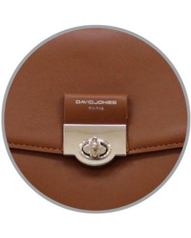 David Jones dámský batoh s klopou koňakově hnědý 6630 6630-2_CC