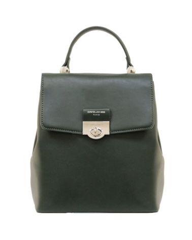 David Jones dámský batoh s klopou zelený 6630 6630-2_GN