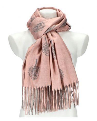 Dámský šátek TREE růžový WJ14412_PK