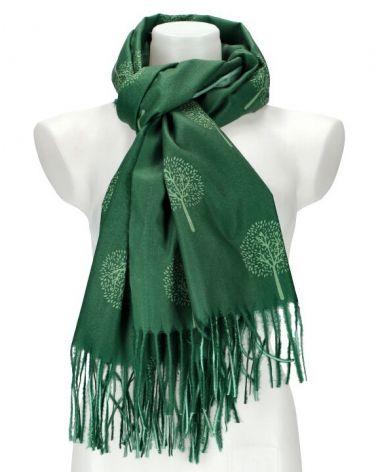 Dámský šátek TREE zelený WJ14412_GN