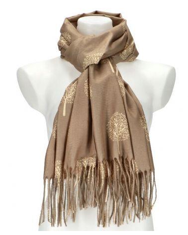 Dámský šátek TREE APRICOT béžový WJ14412_AT