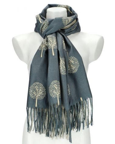Dámský šátek TREE šedý WJ14412_GY