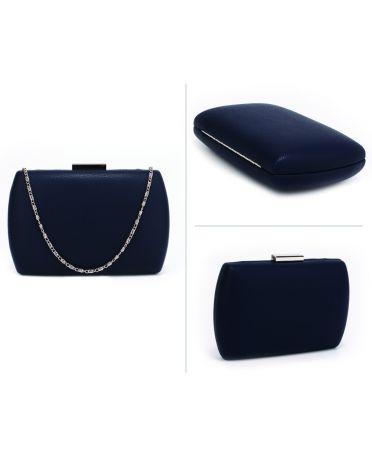 Anna Grace modré psaníčko s pevným obalem 358 AGC00358_NAVY