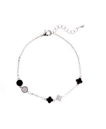 Anna Grace AGB0064 - náramek Silver Crystal AGB0064_SILVER