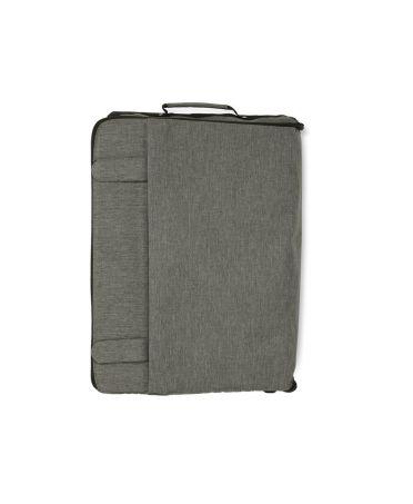 Anna Grace šedý cestovní skládací kufr s kolečky unisex 015 AGT0015_GREY