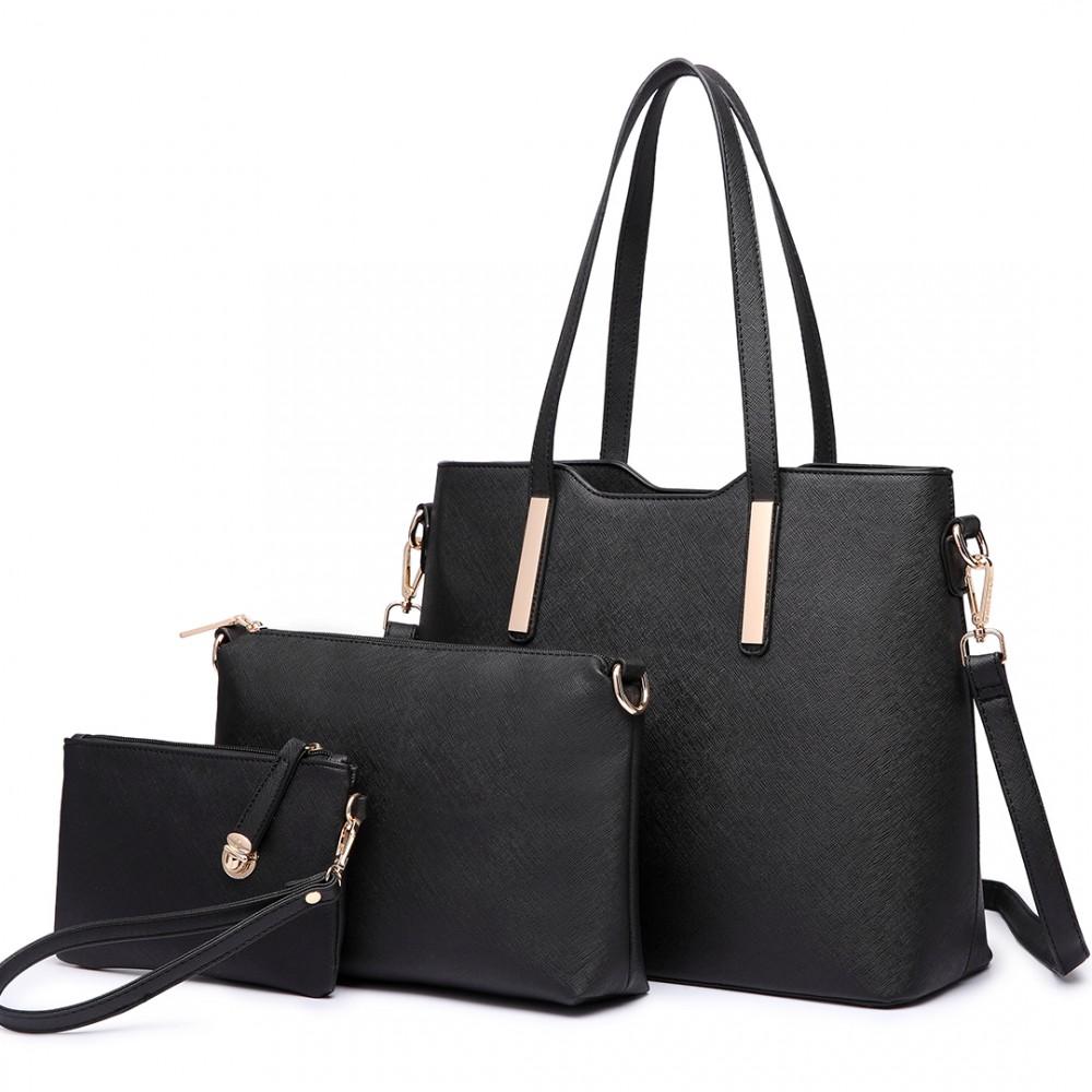 Miss Lulu černá kabelka