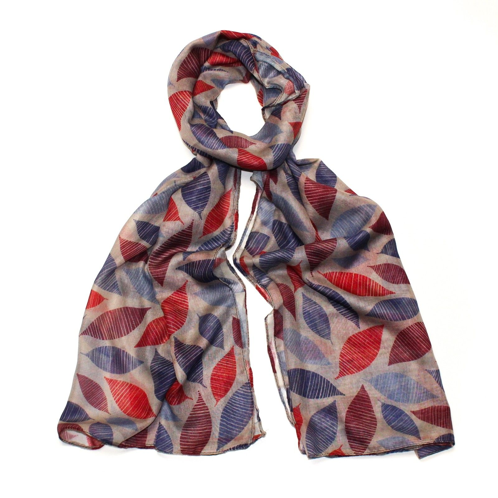 Hazel & Pip šedý dámský maxi šátek Hampshire 3001