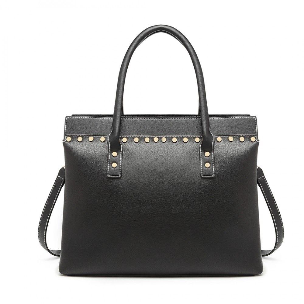 Miss Lulu černá elegantní kabelka 1974